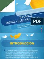Balance Hidroelectrolítico