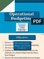 Budgeting control