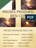 Proses Produksi Besi Cor