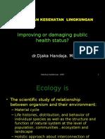 Ekologi Dan Kesehatan Lingkungan