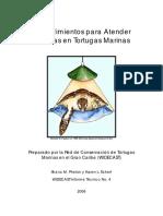 Procedimientos Para Atender Traumas en Tortugas Marin