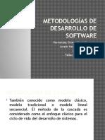 Presentacion de Las Metodologias