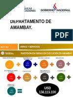Presentación Dpto. Amambay 2016