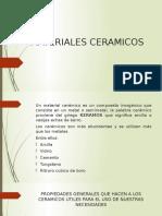 MATERIALES CERAMICOS