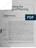 HARVEY, On Planning the Ideology of Planning