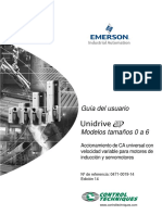 Spanish Unidrive SP Size0-6 User Guide Iss14