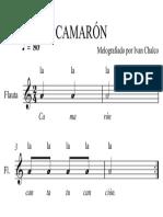 001 Camaron Con Letra