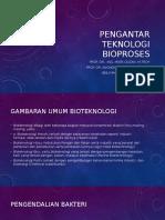 Asistensi Pengantar Teknologi Bioproses