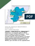 SAGA DEL PARAGUAY MESOPOTAMICO (V).