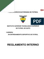 Reglamento Interno Actualizado 2014