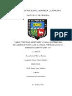 MONITOREO DE EMISIONES- FUENTES FIJAS