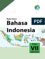 Buku Guru Bahasa Indonesia SMP Kelas VII