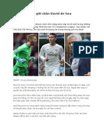Jose Mourinho Giữ Chân David de Gea
