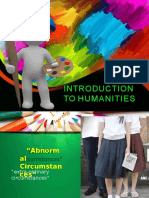1. Intro to Humanities Pt1