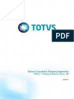 Parecer Consultoria Tributária Segmentos - TQBJZZ - ICMS-ST - Redução de Base Cálculo Produtos Alimentícios - MG