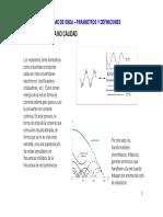 Calidad de Onda -Parametros y Definiciones