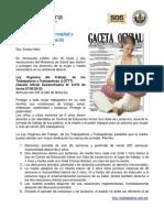 Leyes Para La Maternidad y Lactancia en Venezuela (1)