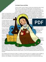 Dimensión Espiritual de Santa Teresa de Ávila
