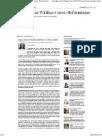 Democracia Política e novo Reformismo- Angela Alonso- Paralelos históricos - ou Dilma e Isabel.pdf