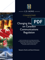 Changing the Channel on Canadian Communications Regulations
