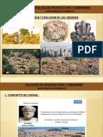 1 Origen y Evolucion de Las Ciudades
