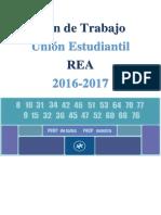 Plan de Trabajo REA 2016-2017