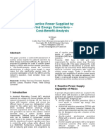 Reactive Power Supplied by Wind Energy Converters – Cost-Benefit-Analysis