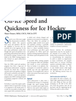 Off Ice Quickness Program