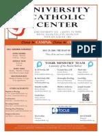 UCC Bulletin 5-29-2016
