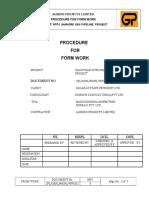 12 Form Work