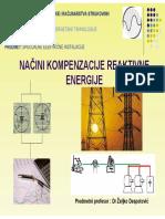 Reactive power compensation principles