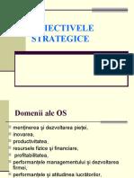 CAPITOLUL 3 Obiectivele Strategice
