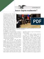 Hacia Japón