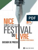 Festival du livre de Nice 2016