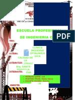 Calidad Clinica Oftalmologica