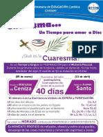 Ficha de Cuaresma - Marzo - Odec Chiclayo 2