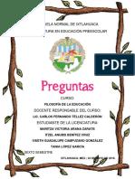 Preguntas de Freire & Pedagogía Progresista