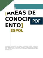 For-uvs-07 Áreas de Conocimiento v1 2015-09-23