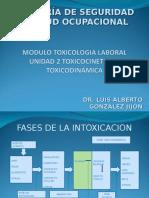 Módulo II Toxicologia Laboral