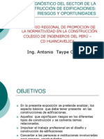 Diagnostico de La Construccion en Huancavelica