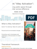 thesis presentation- alley activation final  1