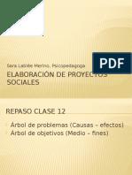 Clase 13, Elaboracion Del Proyecto