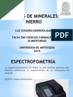 Analisis de Minerales