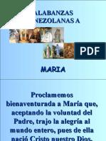 Alabanzas Venezolanas a Maria