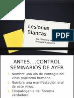 PAT - Clase n°40. Lesiones blancas (2)