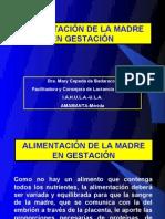 ALIMENTACIÓN - MADRE Y LACTANCIA