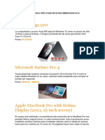 Computadoras Portátiles de Última Generación 2016