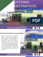 Sistemas de Administracion San Jeronimo