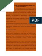 El Modelo Constructivista Con Las Nuevas Tecnologías Reporte 1-3