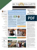 Historic Philadelphia Gazette - June 2016